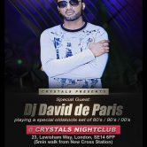 Crystals Present DJ DAVID From Paris