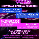 CRYSTALS REUNION PARTY